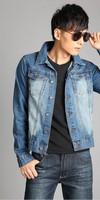 2014 men's clothing men's jean jacket men denim jackets for men Denim shirt