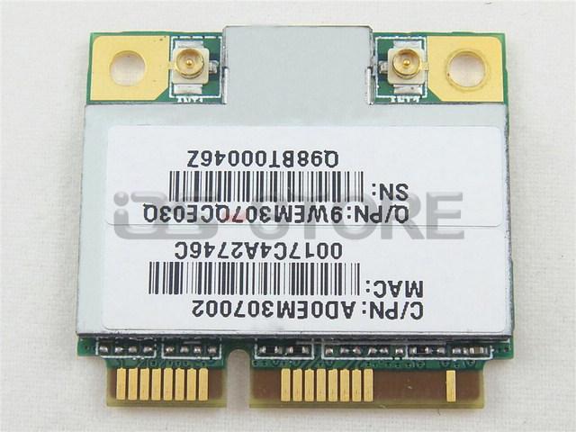 RT3090 Half Mini PCI Express Network Wlan Wireless Wifi Card 802.11 b g n 593532 593031 588551 001(China (Mainland))
