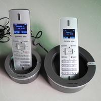 Fashion quality cordless phone ultra-thin digital cordless