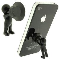 Hercules phone holder villain 3D Man Stand Supporter for Smartphone Plunger Sucker Free shipping