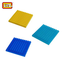 2014 LOZ building block toys accessories small diamond particles of small size building blocks assembled floor X1010