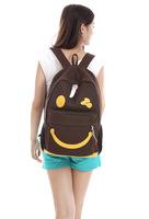 HOT! Denim cute Smily Face Backpack Preppy Chic School Bag Canvas Bag Travel Bag