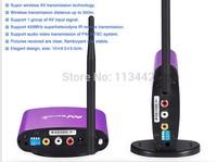 2014 PAT-550 5.8GHz Digital STB Wireless Sharing Device AV Sender IR Remote Extender receiver Up to 300m new arrival