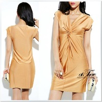 O60553 real pictures with model flash bulbmagnesium slim dress volvulus