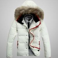 2014  winter men's brand white duck down jacket,plus size warm winter outdoor coat,sport jacket, fashion men's outwear coat