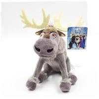 2014 NEW  21cm Frozen Reindeer Sven Kristoff friend Plush  Toys Dolls for Children gift Free Shipping