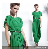 218059 tantalising racerback one-piece dress long elegant