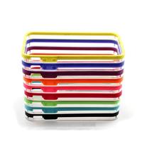 1000pcs/lot Multicolor Skin Bumper Slim TPU Case Cover for iPhone 4 4S