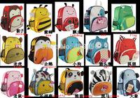 fedex lowest price Hot children zoo backpack cute kids cartoon animal school bag kindergarten satchels mochila pack bolsas 200pc