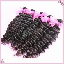 Rosa hair products malaysian deep wave virgin hair,5A malaysian virgin hair bundle deals,40% discount real human hair extensions(China (Mainland))