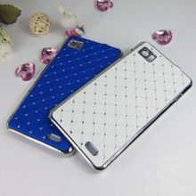 Rhinestone case for lenovo K860 moblie phone Protective sets Diamond cell cases cover shell free shipping