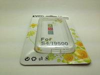 100pcs/lot Hybrid TPU Bumper Frame Case for Samsung Galaxy S4 i9500