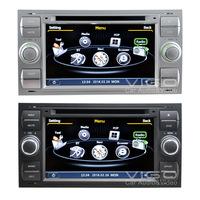 Car Stereo for Ford Focus Mondeo S-max Fiesta Galaxy Transit Kuga C-max GPS Navigation Headunit System With Sat Nav CD Player