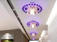 3W modern brief crystal light LED chandelier lamp lustres home decoration AC200-240V light fixtures abajur luminaria