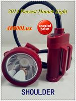 2014 factory seller 5W cree LED 48000Lx free shipping LED mine cap lamp helmet lamp mine lamp