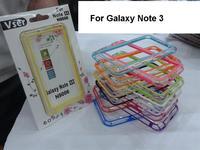 100pcs/lot Hybrid TPU Bumper Frame Case for Samsung Galaxy Note 3 N9000