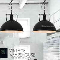 Grade A American country vintage warehouse pendant lights restaurant coffee bar pendant lamp dining room kitchen stairway light