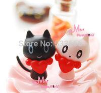 2 PCS Baby  cat Japanese Lovely Girls TOY 1/12 Dollhouse Miniature