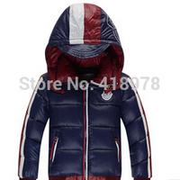 2014 children with short down jacket boy cuhk children's winter coat