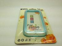 100pcs/lot Hybrid TPU Bumper Frame Case for Samsung Galaxy S4 Mini i9190