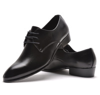2014 spring and summer men leather dress shoes  british style formal lacing  leather wedding shoes