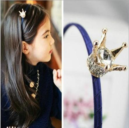Детский аксессуар для волос Favori 9pcs/hairbands Princess Crystal Crown sarayli favori new