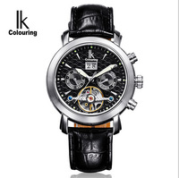 The new path of gemany hollow out automatic mechanical watch Multi-function men casual watch Sapphire glass 98444 g