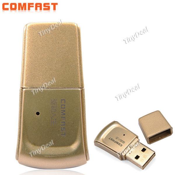 Mini usb wifi wireless broadband router adaptateur wifi d'or. portable mini usb adaptateur wifi dougle 150 2mbps livraison gratuite