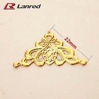 Free Shipping 100pcs 22mm Gold Crown Decroative Corner For Scrapbooking Decoration  -TC11