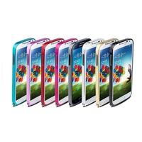100pcs/lot 0.7mm Ultra thin Slim Aluminium Metal Bumper Frame Cover Case for Samsung Galaxy S4 i9500