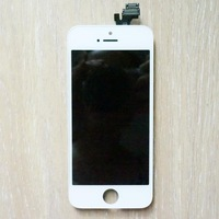 For iphone 5 New Touch Screen Digitizer Replacement+LCD Dispaly Assembly for iphone 5 Black/White Free Shipping