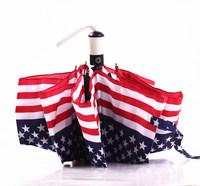 New arrival automatic stars and stripes umbrella ,folding UV protection windproof umbrellas