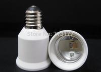 50pcs/lot LED E17 to E27  Base Adapter Holder Converter light 2 Differents screw socket lamp base E27 lamp LED conversion head