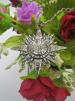 D.Gray-man  AllenWalker Necklace Cosplay Dark Mission Badge Necklace