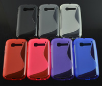 10pcs New Soft TPU S line Wave Case Skin Cover For Alcatel One Touch Pop C5 5036 OT5036 5036D phone case