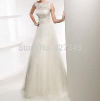 HDT207 Fashion 2014 Sexy Lace Appliqued Princess High Low Wedding Dresses