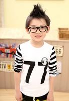 New Fashion 2014 Summer Children t Shirts 100% Cotton Boy's t Shirt Kids Clothes Boys Brand Free Shipping