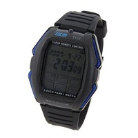 LKM Multifunctional Touch Panel-Function Remote Sport Watch for Unisex