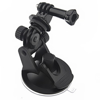 Mini Car Sunction Cup Mount Bracket For GoPro HD Hero 3+ 3 2 1 Camera Accessory