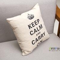 British Crown pillowcase car office sofa cushion covers