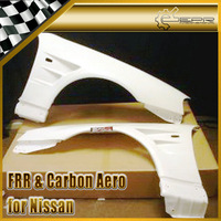 For Nissan Skyline R34 GTR BN-Style Carbon Vented Front Fender 2pcs Pair