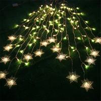 free shipping moving head led 50w /2*1m 104 bulbs hung snowflake