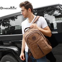 Free shipping Male backpack school bag backpack canvas laptop bag travel bag student school bag