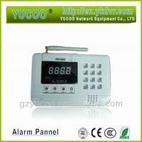 home Alarm Wireless Alarm Burglar Control Panel Phone Alarm System 99 Protection Zone 315mHz / 433Mhz+LCD Screen