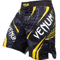 VENUM LYOTO MACHIDA RYUJIN FIGHTSHORTS - BLACK/YELLOW QUALITY COMBAT BOXING MMA TRAINING BJJ KICKBOXING