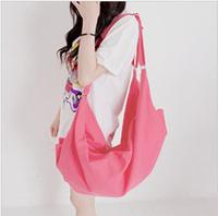 Post new Miss Han Ban female bag canvas shoulder bag dumplings