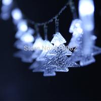 30 LED Powered Battery Fairy Lights Christmas Tree Shape Ideal for Christmas Decoration