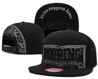 Free shipping!2014  New styles POPPING Snapback Caps, hip hop flower cap brand mens women snapbacks hats Zebra baseball caps
