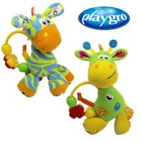 1pc Playgro Giraffe bead Toys Newborn Baby Rattles Free Shipping