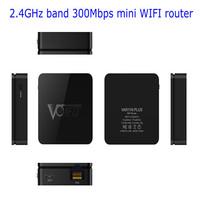 2014 New black shell 2.4GHz band 300Mbps mini WIFI wireless router,VAR11N PLUS,DC5V flexible USB port,Channel idle algorithm